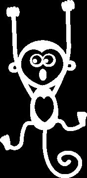 Sticker Singe Pendu 3