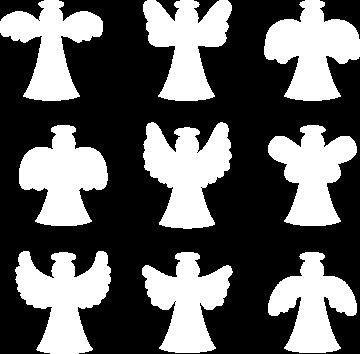 Sticker Kit Anges De Noël
