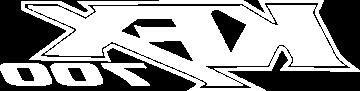 Sticker Kawasaki Kfx 700