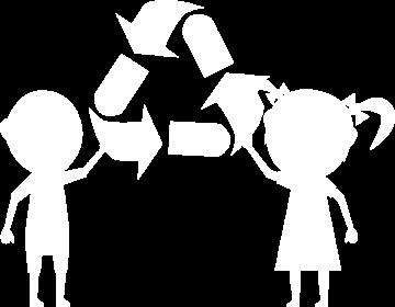 Sticker Enfants Respect Recyclage Et Environnement