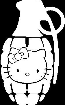 Jdm Grenade Hello Kitty