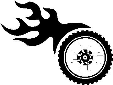 Autocollant Racing Droite