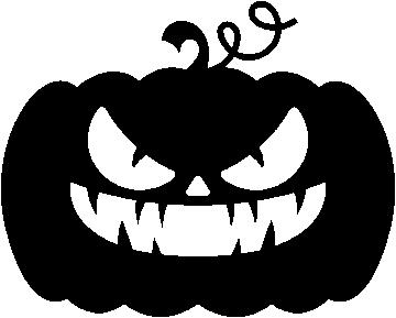 Sticker Citrouille Halloween 5