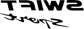 Sticker Suzuki Swift Sport