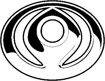 Sticker Mazda Logo 3