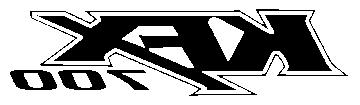 Sticker KAWASAKI_KFX