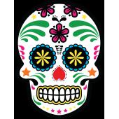 Autocollants Têtes De Mort Mexicaines Autocollants Stickers