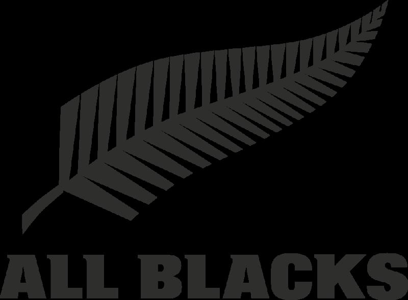 sticker rugby logo all blacks autocollants stickers. Black Bedroom Furniture Sets. Home Design Ideas