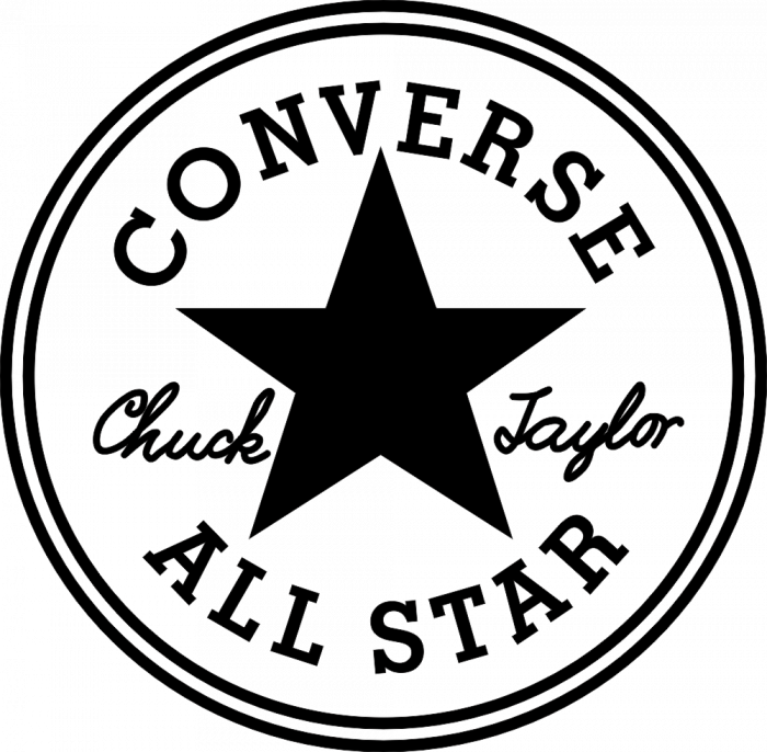 Converse autocollants stickers for Converse logo interieur ou exterieur