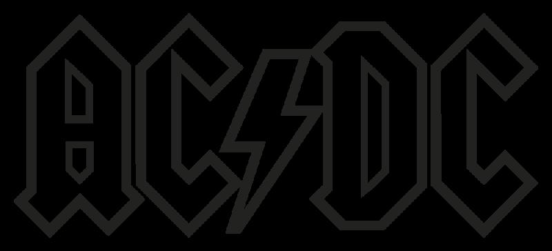 Acdc Autocollants Stickers