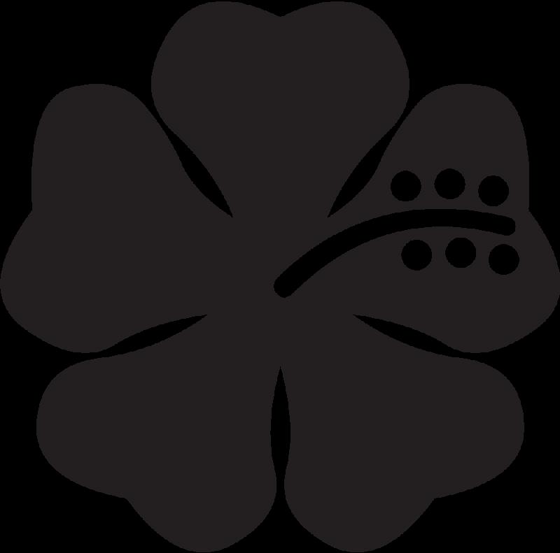 Stickers fleurs 6 autocollants stickers for Livraison fleurs paypal