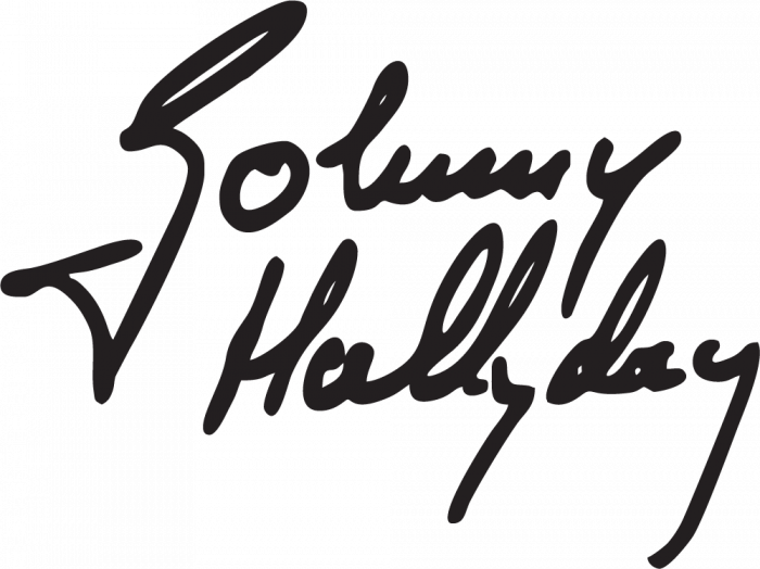 sticker johnny hallyday 3 autocollants stickers. Black Bedroom Furniture Sets. Home Design Ideas