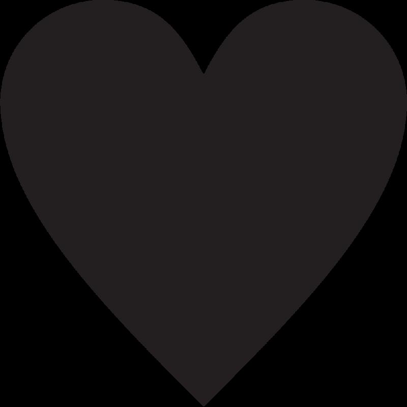 sticker forme coeur autocollants stickers. Black Bedroom Furniture Sets. Home Design Ideas