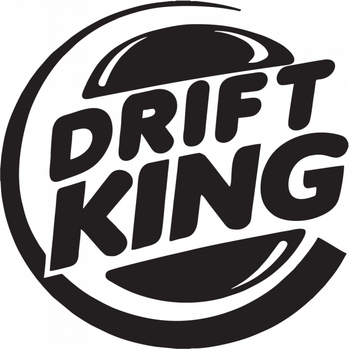 Drift King Autocollants Stickers