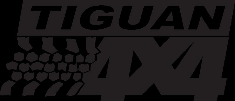 Logo 4x4 Tiguan Autocollants Stickers