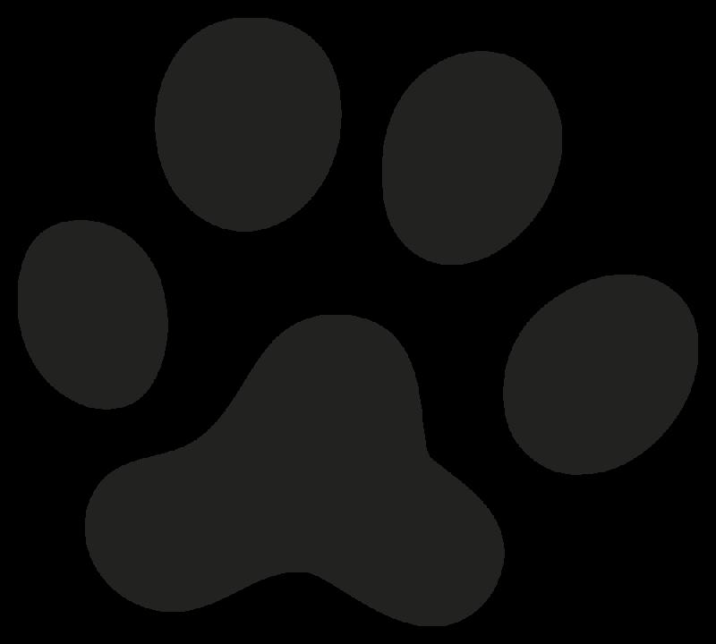 Berühmt empreinte chien | Autocollants-Stickers SS84