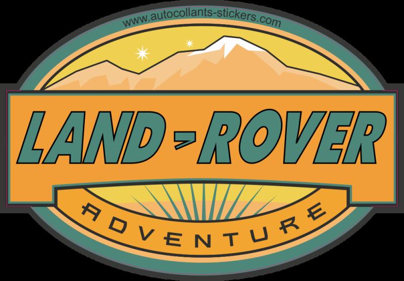Autocollant deco 4x4 land rover autocollants stickers for Idee deco 4x4